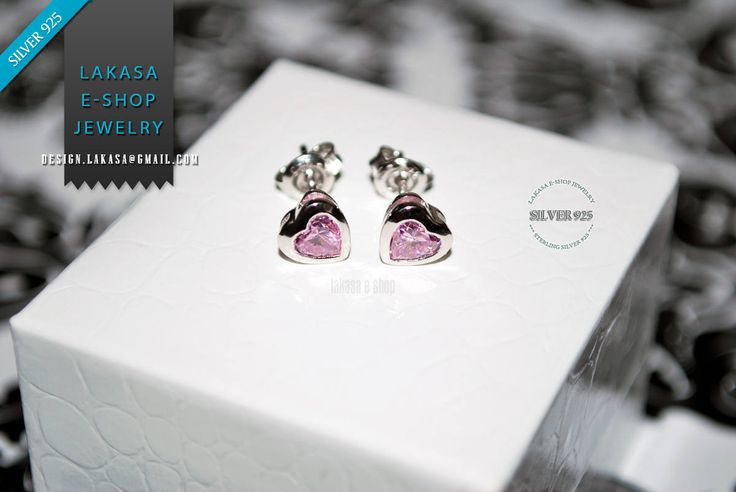 Heart studs Earrings Amethyst color Crystal Sterling Silver Rhodium plated Jewelry Valentine lovely gift for her Women Girls Moda Collection #hearts #amethyst #pink #color #zirconia #crystals #lovely #studs #earrings #sterling #silver #rhodium #plated #kids #woman #girl #for #her #gift #jewelry #σκουλαρικια #καρδιες #κρυσταλους #ζιργκον #ροζ #χρωμα #γυναικα #παιδι #κοριτσι #παιδικο #μωρο #δωρο #ασημενια #κοσμηματα #lakasaeshop