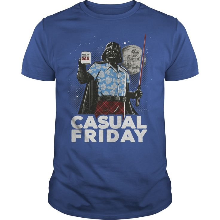Casual Friday Darth Vader. Funny and Clever Quotes, Sayings, T-Shirts, Hoodies, Tees, Tank Tops, Gifts.