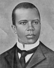 Scott Joplin (1868-1917) - the King of Ragtime. He died on April 1, 1917 at the age of 48.