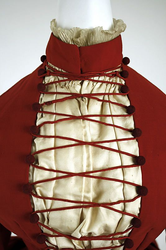 Dress 1887 Culture: American Medium: wool, silk