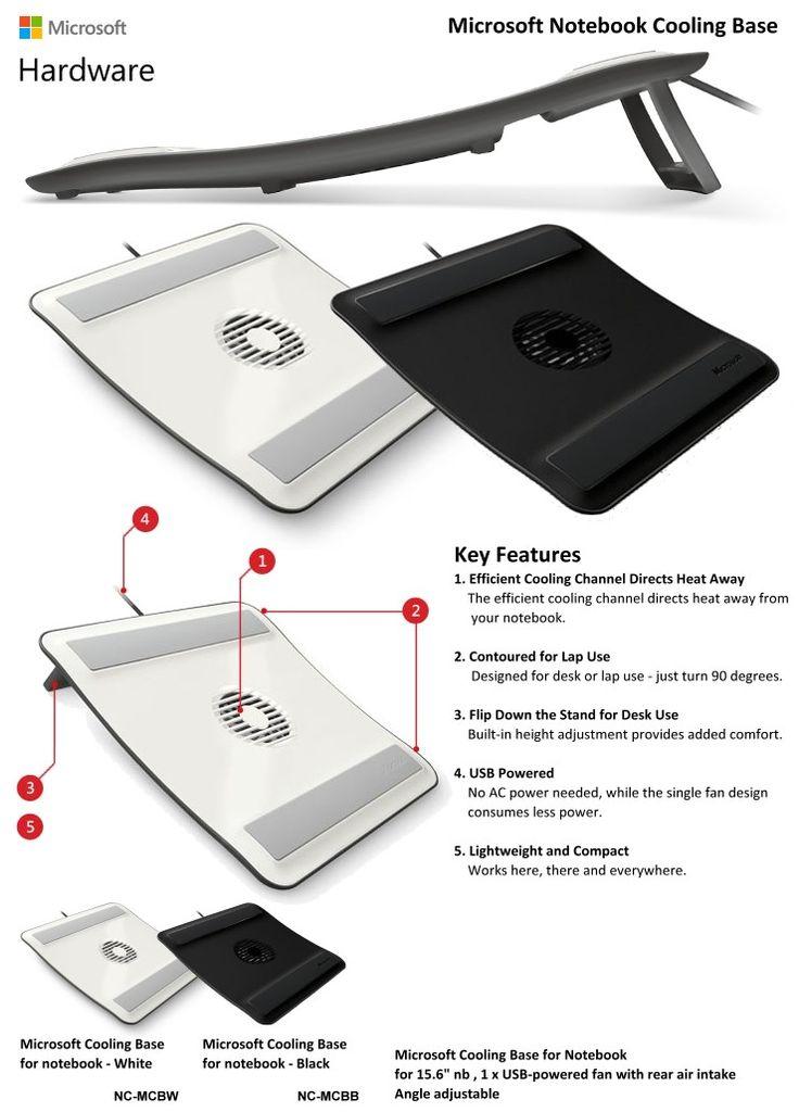 Microsoft Notebook Cooling Base