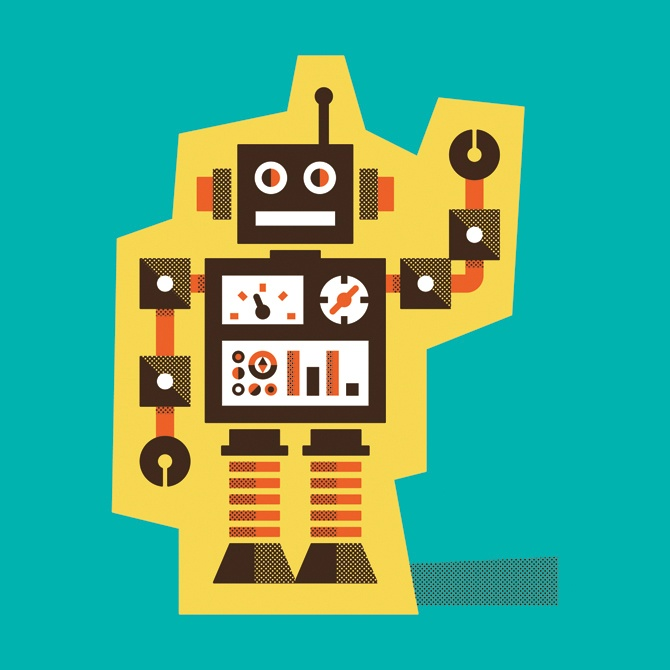 125 best Robots images on Pinterest Monsters, Newborn pictures and - new robot blueprint vector art