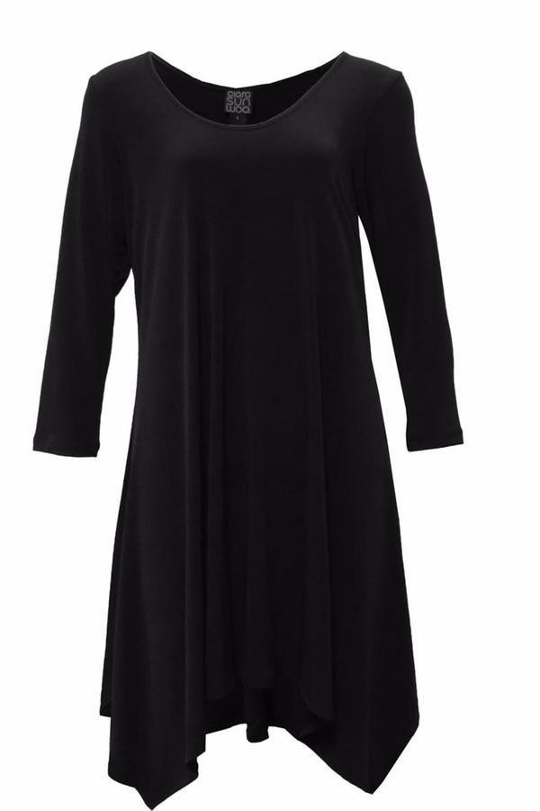 Clara Sunwoo Black Tunic Dress