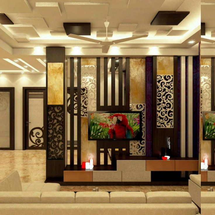 Partition wall interior india pinterest walls tv Contemporary room dividers ideas