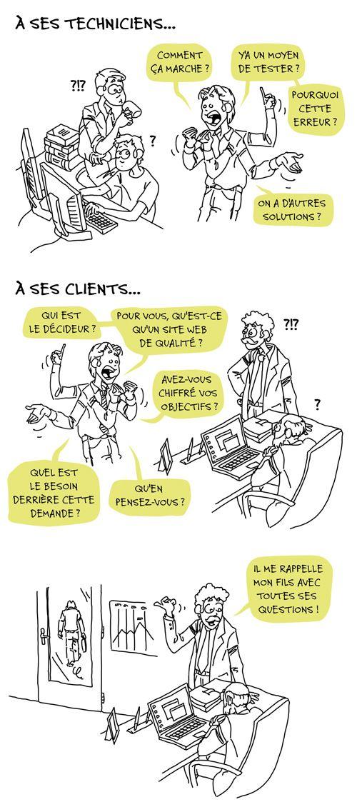 Illustration du mercredi : 8ème habitude du chef de projet multimédia - BLOG // Patricia Gallot-Lavallée, Experience designer