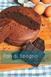 Pan di Spagna al Cioccolato di Luca Montersino (senza zucchero)