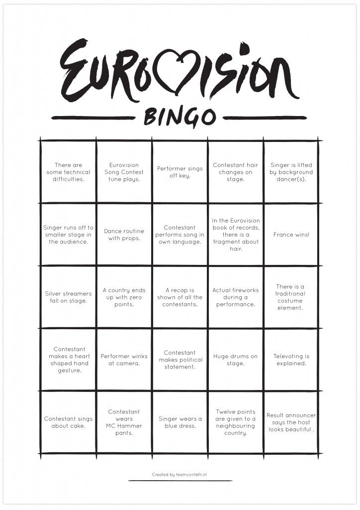 eurovision complete results 2014