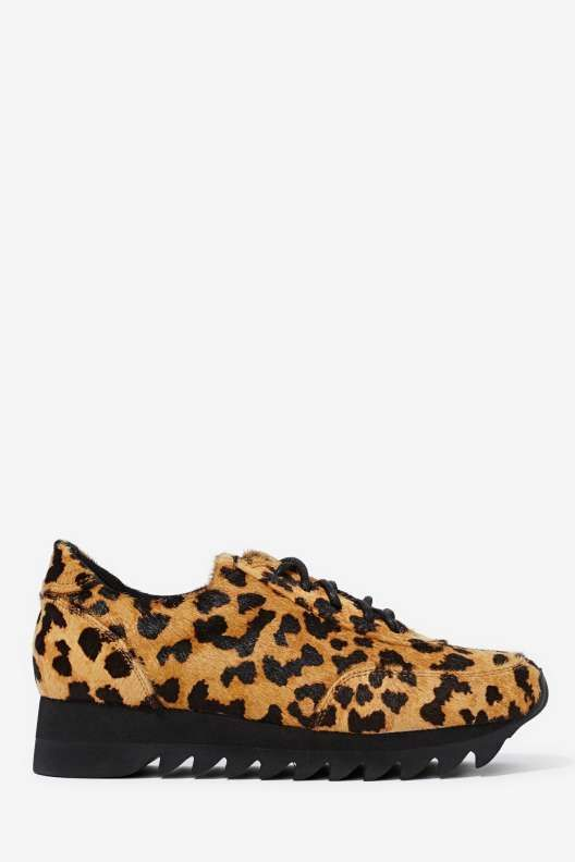 Jeffrey Campbell Bruce Pony Hair Sneaker - Shoes