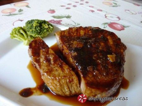 Steak με Jack Daniels Sauce