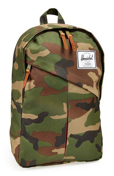 "Herschel Supply Co. 'Parker' Backpack | Nordstrom: 11 1/2""W x 17 1/2""H x 5""D."