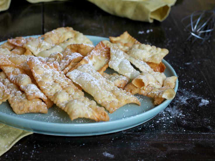 CHIACCHIERE FURBISSIME ricetta di Carnevale senza uova senza burro