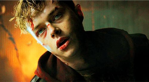 Dane DeHaan as Trip in Metallica: Through the Never #hottttt