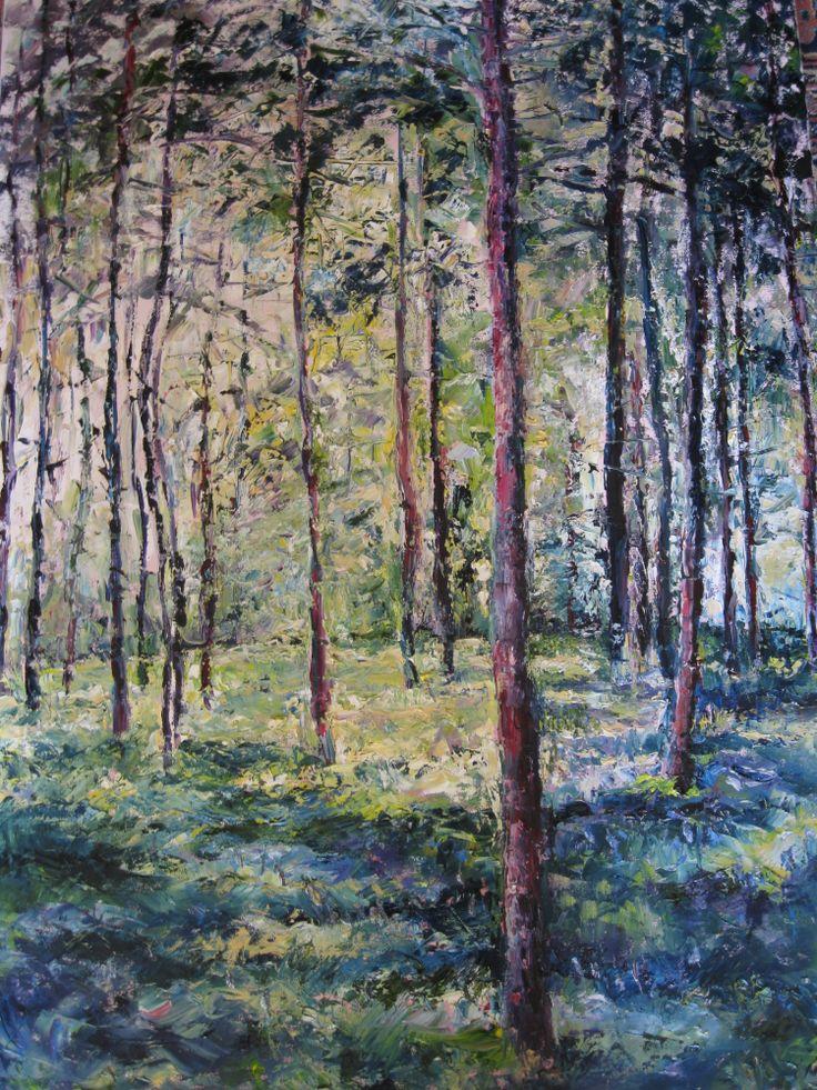 'Bluebell Wood' 60x80cm www.niamhslack.com