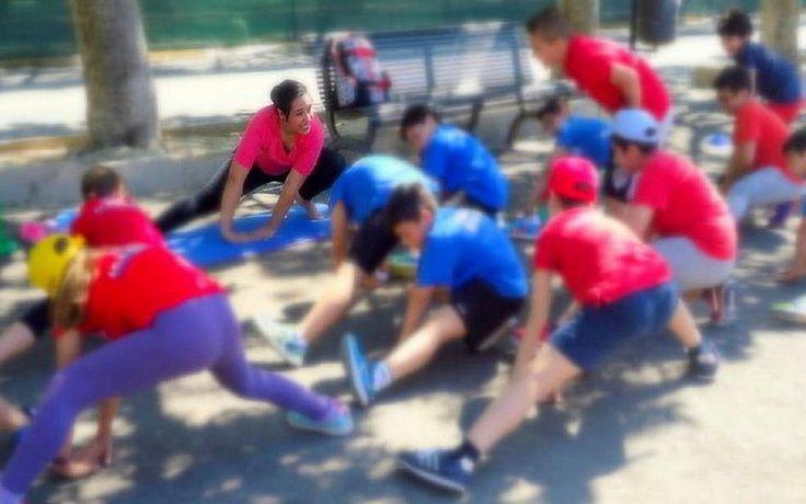 Yoga per bambini Giorno dello Sport #yogaperbambininoto #yogakidsnoto #yogaxbimbi #yogabambininoto