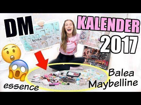 DM ADVENTSKALENDER unboxing + Live-Test! BALEA, ESSENCE, Maybelline + VERLOSUNG ♡ BarbaraSofie https://www.youtube.com/watch?v=qpwg2qi9DU8