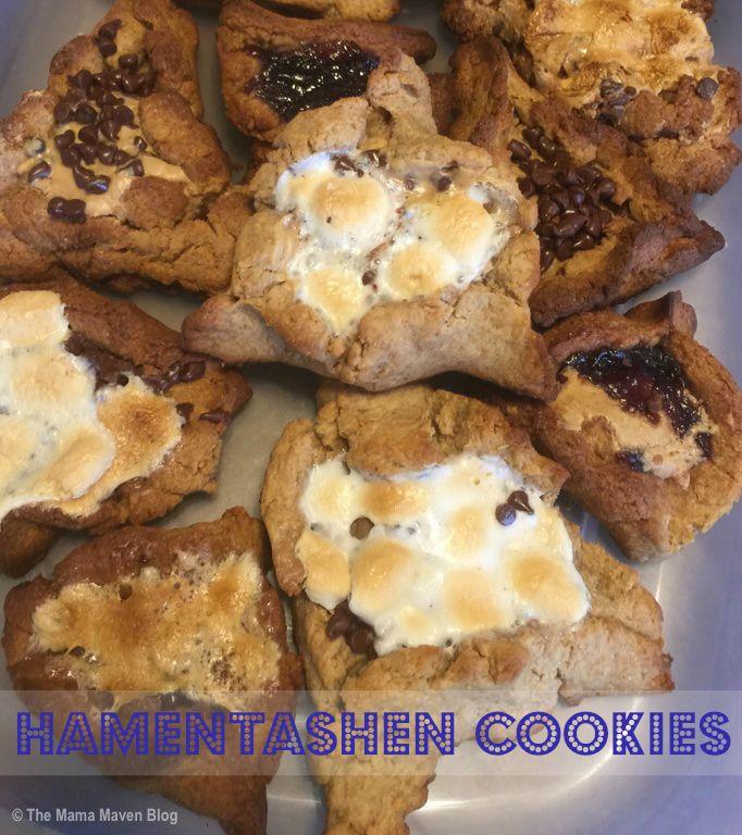 S'mores Hamtentashen Recipe for Purim | The Mama Maven Blog | #purim #hamentashen #desserts