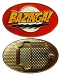 Big Bang Theory Bazinga Belt Buckle