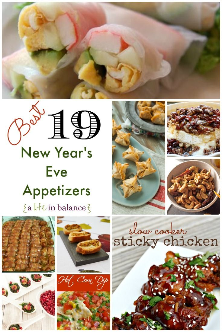 25 best ideas about new year 39 s eve appetizers on for Appetizer ideas for new years eve party