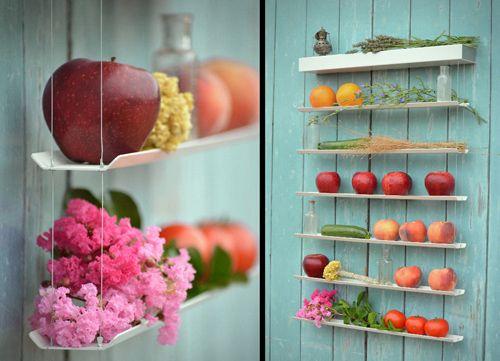 Praktisch & attraktiv: Obst- und Gemüsewand