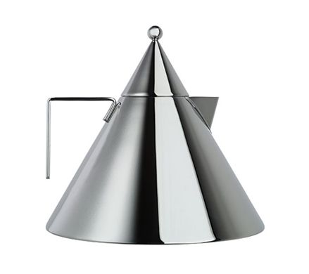 cone kettle by Aldo Rossi for alessi