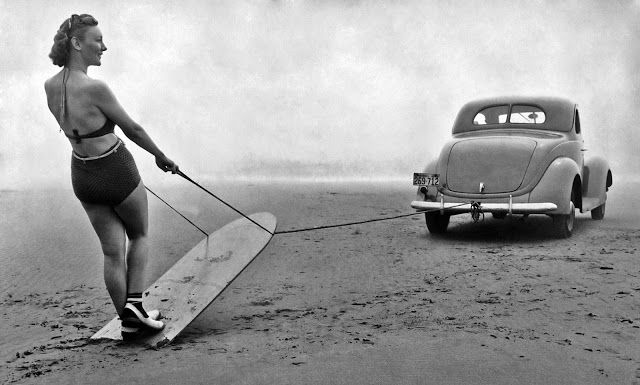 vintage everyday: 20 Surf Photos That Show Women Making Waves from the 1930s through the 1960s