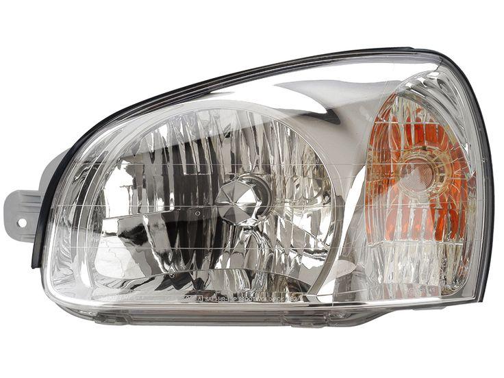 2003-2006 Hyundai Santa Fe Driver Side Headlight: 2003-2006 Hyundai Santa Fe Driver Side Headlight #CarHeadlights #AutoHeadlights