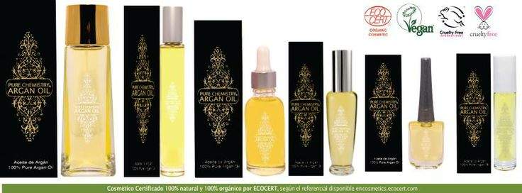 Usa un poco de Aceite de Argán Pure Chemistry® antes de tu base de maquillaje y notarás la diferencia