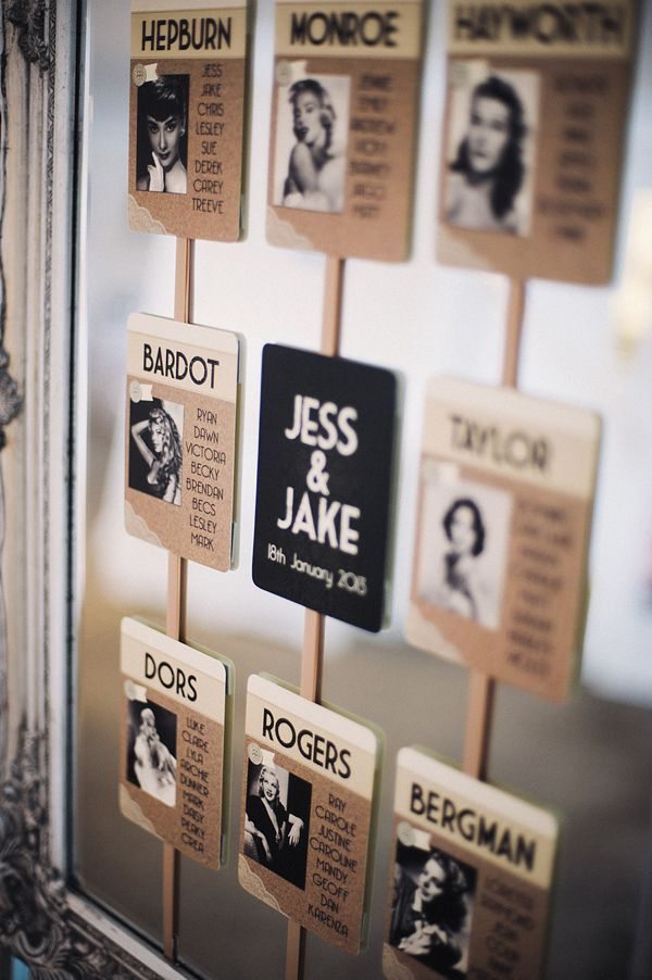 7 Best #Escort #Card Ideas for Weddings. To see more wedding ideas: www.modwedding.com
