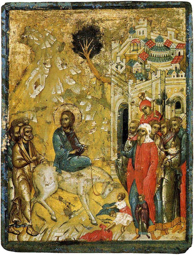 L'entrata in Gerusalemme. Secondo quarto del 15 ° secolo