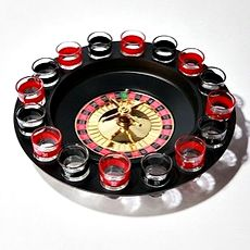 Shot Roulette. So, um... yeah. I feel a casino night party in my near future.