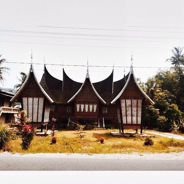 Rumah gadang Rumah kakek nenek yg masih terjaga hingga saat ini, solok padang sumatra barat