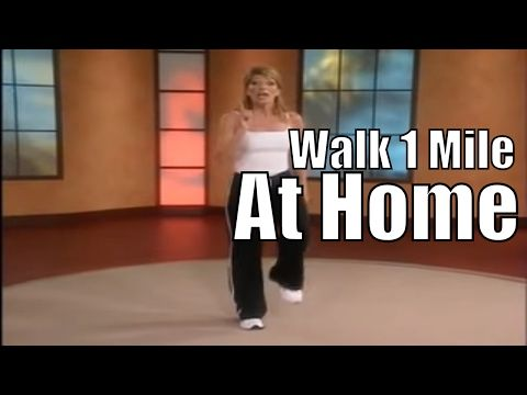 1 Mile In Home Walk! - YouTube