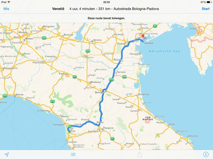 Pisa - Florence - San Marino - Venetië