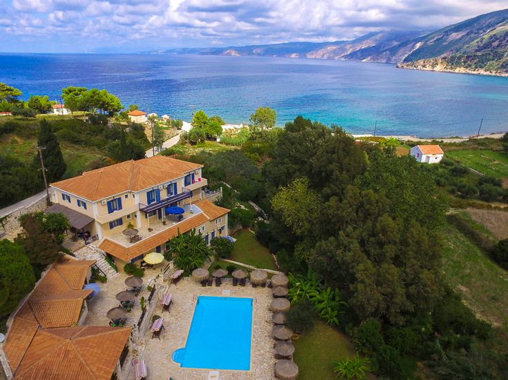 odyssey villas is a studio complex few meters from Agia Kiriaki beach in Zola Kephalonia