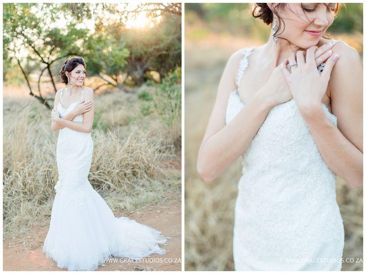 www.gracestudios.co.za  Stunning Bride Bush Wedding