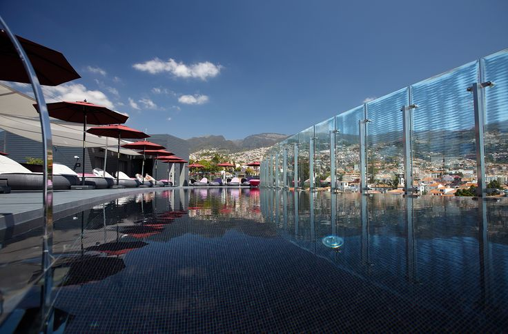 Funchal, Madeira - The Vine Hotel - 360 Sky Bar