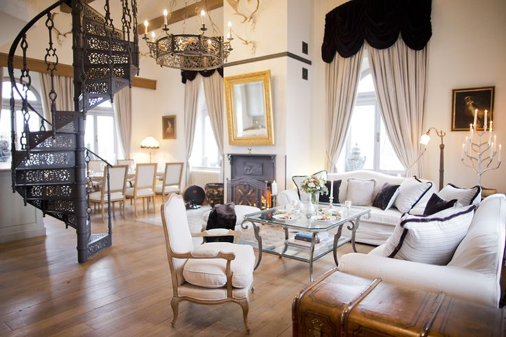 "Presidental Suite ""Agape"" at Chateau Mcely. Beautiful Suite in the Chateau tower with more than 110m2."