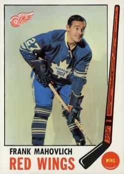 1969-70 Topps #62 Frank Mahovlich Front