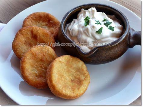 Gizi-receptjei. Várok mindenkit.: Olajban sült krumplis pogácsa.
