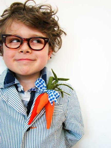 Oh My!: Boutonnier, Kids Hair, Hipster Kids, Kids Fashion, Children, Carrots, Easter Outfit, Food Recipe, Little Boys