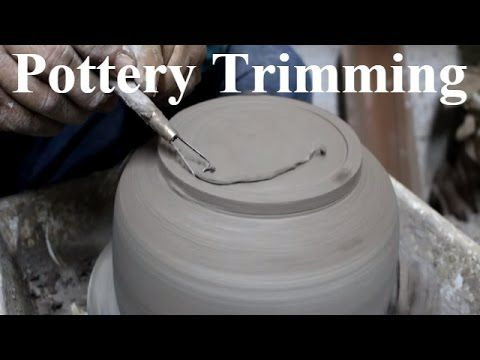 How to Trimming a Pottery Bowl (Raku) on potter's wheel.  If you like the video share this one  :) https://www.youtube.com/watch?v=0Q375_abwpw&list=PLw9_EzwihLfLZTP3aUn-dTv_do1SqxZl8 Subscribe for more... #pottery #diy #crafts #ceramics #trimming #potterytrimming #trimmingtools #potterythrowdown  Thanks for your Support.  #pottery #ceramics #potterythrowdown #Education #earthenware #howtomake #porcelain #clay #earthenware #ceramicglaze #howto #diy #potterythrowing #diycrafts