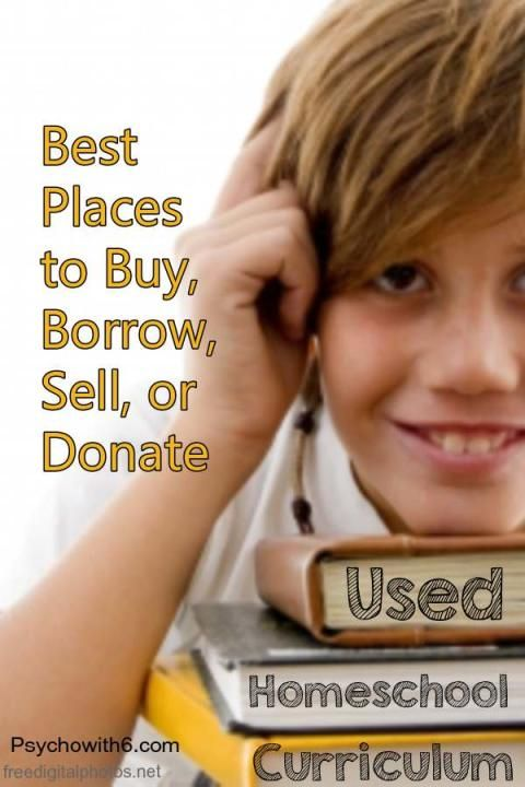 Best Places to Buy Borrow Sell Donate Used Homeschool Curriculum
