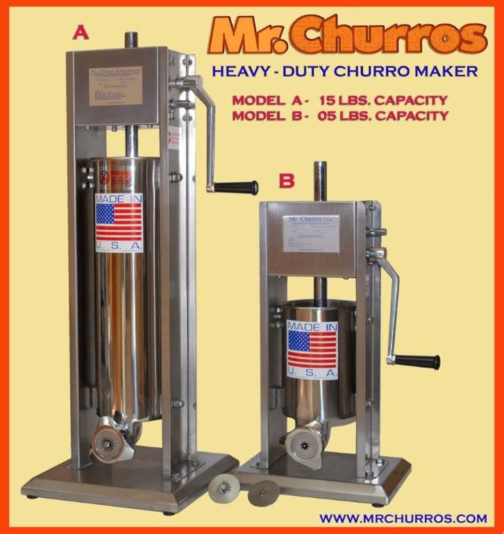 5 and 15 lbs churro makers holiday recipes pinterest churro. Black Bedroom Furniture Sets. Home Design Ideas