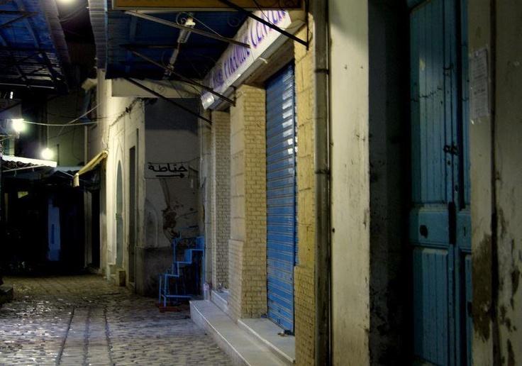 Night in Medina, Sousse