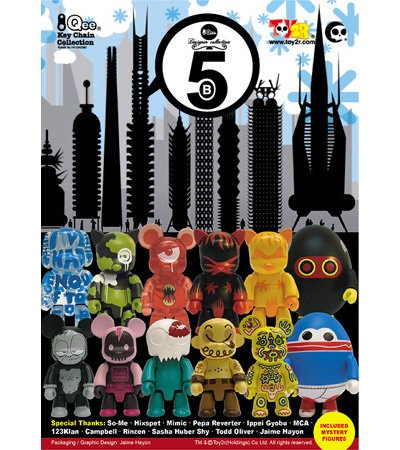 Toy2R series 5B 2.5 inch Qees. I found this on shop.visualjunkie.no