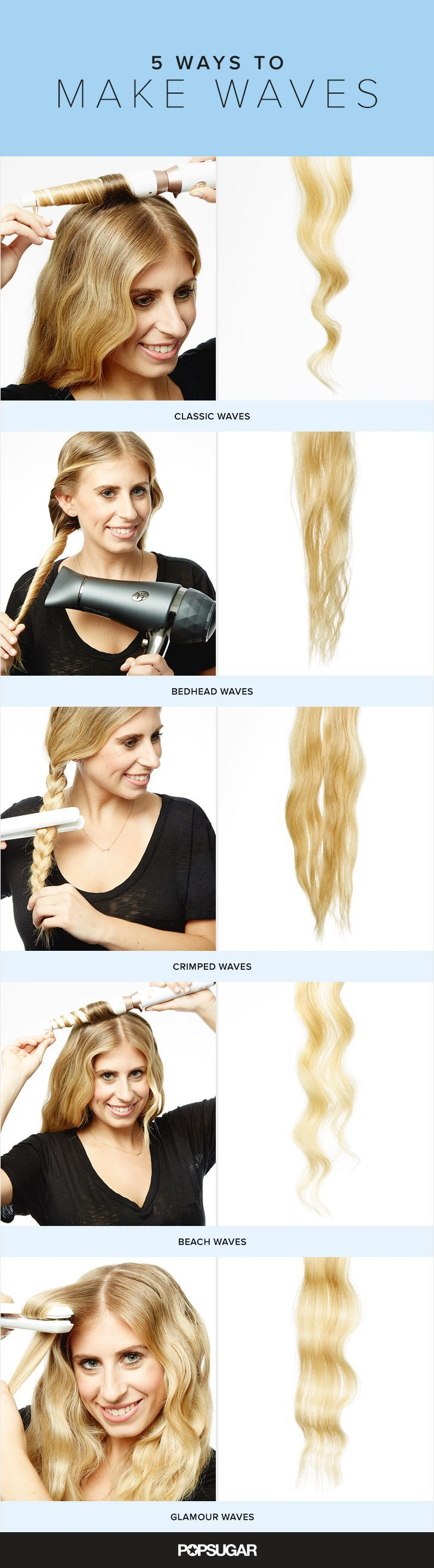 Best 25 Curling Wand Waves Ideas On Pinterest Easy