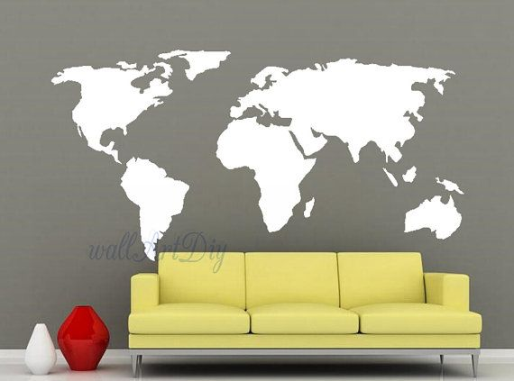 20 best World Maps images on Pinterest