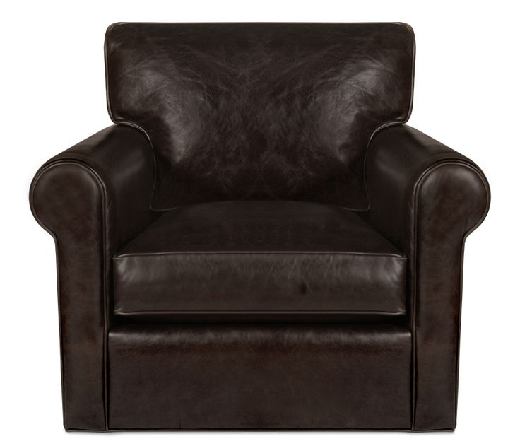 Clayborne Leather Swivel Chair