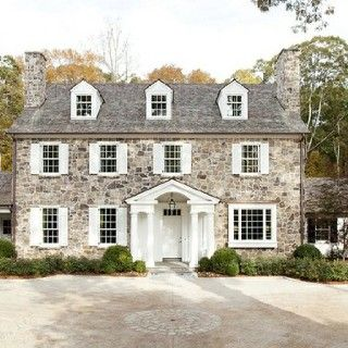 Habitual Design reminds me of Pride and Prejudice. Beautiful stone house.