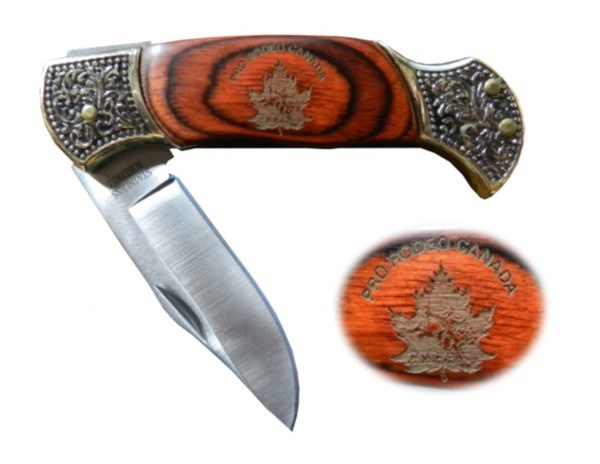 "7"" Deluxe Pocket Knife. Handle is lasered with the CPRA logo!"